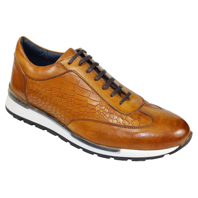 Duca by Matiste Varsi Lace Up Sneakers Cognac Image