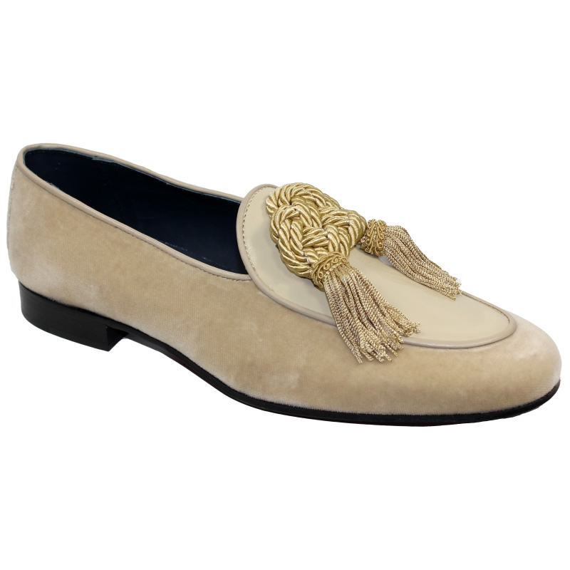 Duca by Matiste Venezia Tassel Loafers Champagne Image
