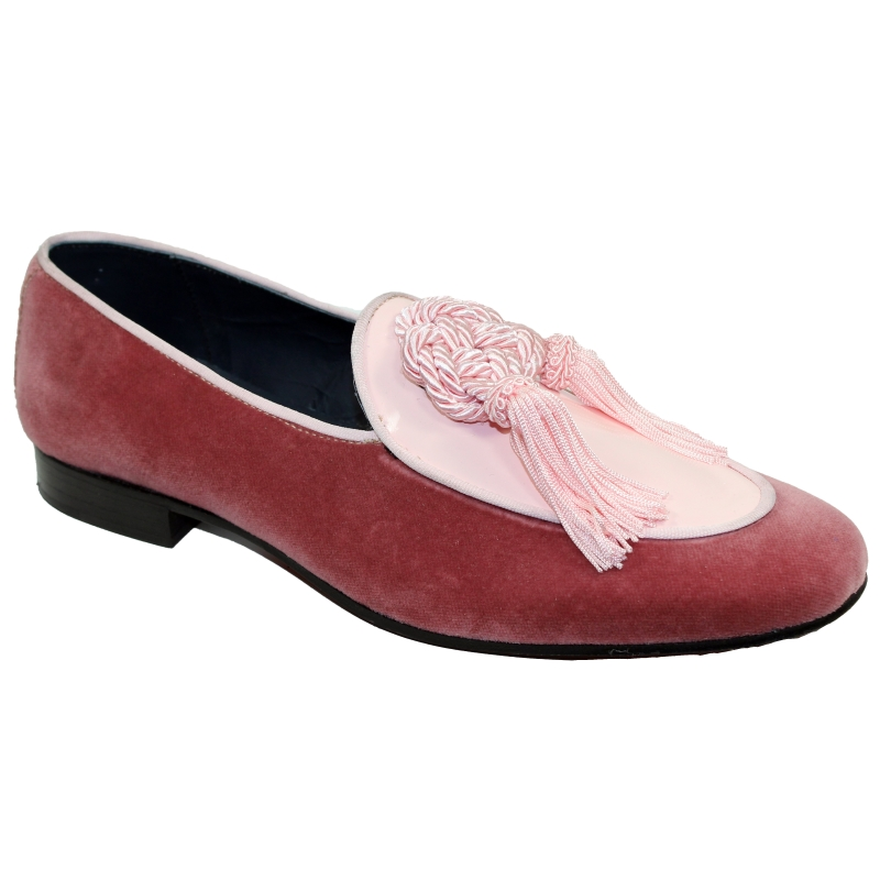 Duca by Matiste Venezia Tassel Loafers Pink Image