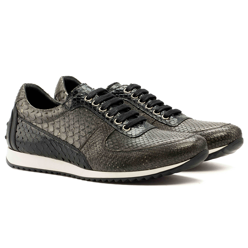 Emanuele Sempre Corsini Python Sneakers Black/Grey Image