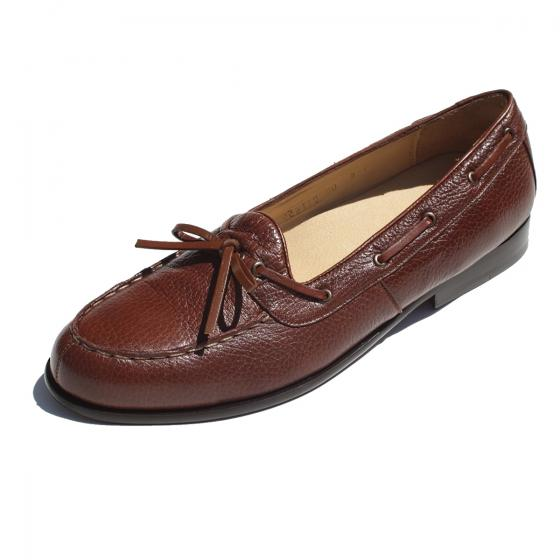 Alan Payne Dino Deerskin Loafers Brown Image
