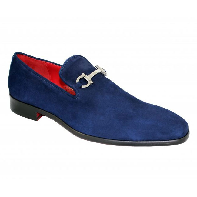 Emilio Franco 13 Navy Shoes Image