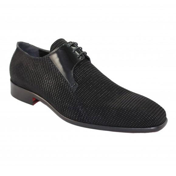 Emilio Franco 16 Black Shoes Image
