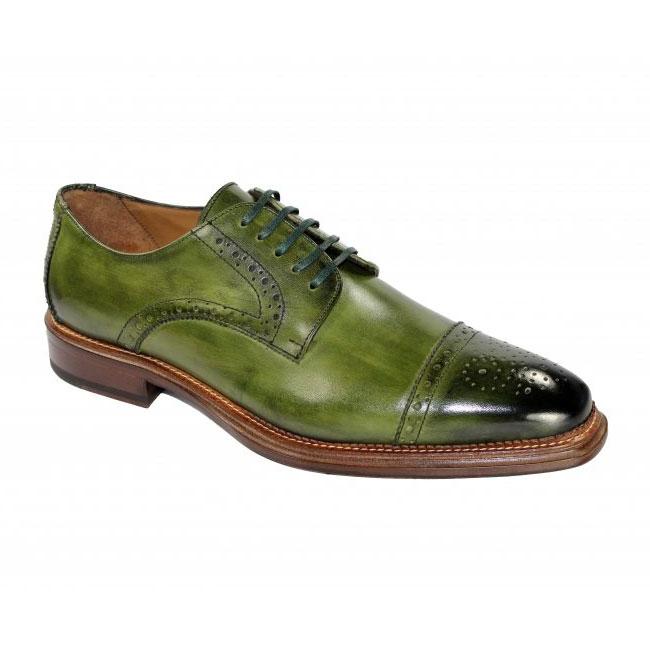 Emilio Franco 213 Olive Shoes Image