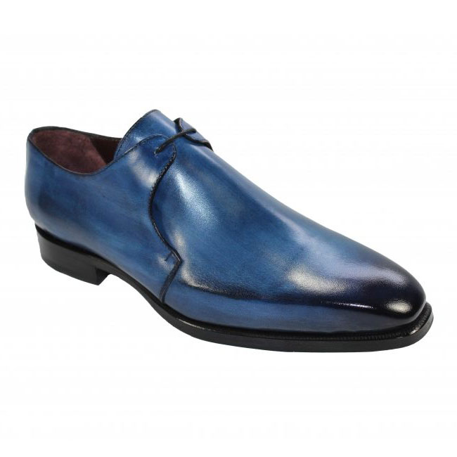 Emilio Franco 62 Blue Shoes Image