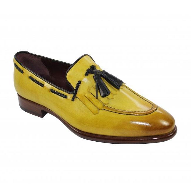 Emilio Franco 73 Yellow Shoes Image