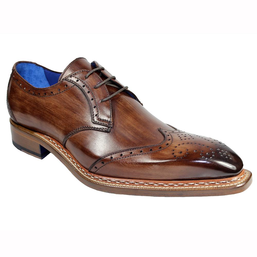 Emilio Franco Adamo Leather Shoes Brown Image