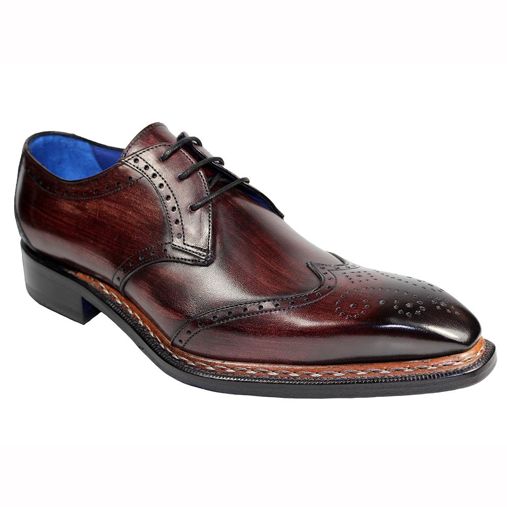 Emilio Franco Adamo Leather Shoes Burgundy Image