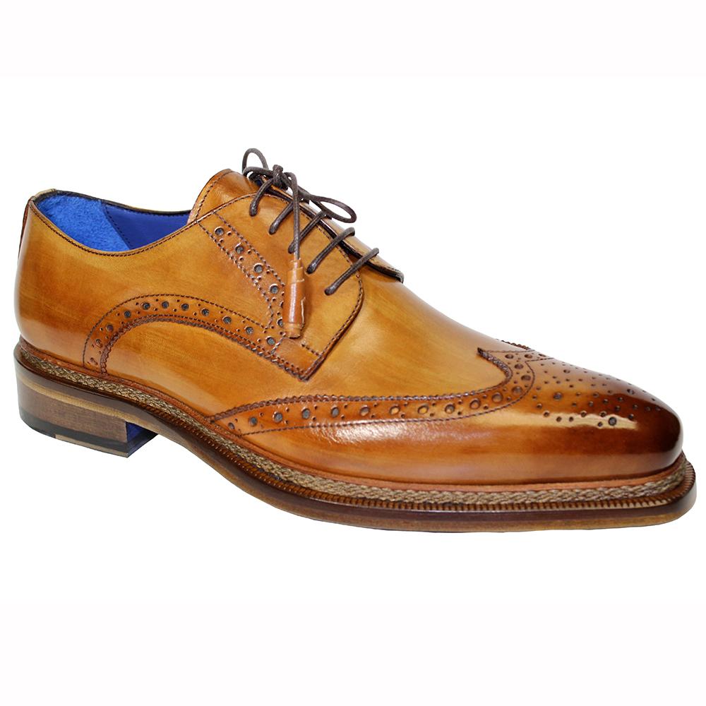 Emilio Franco Adriano Leather Shoes Cognac Image