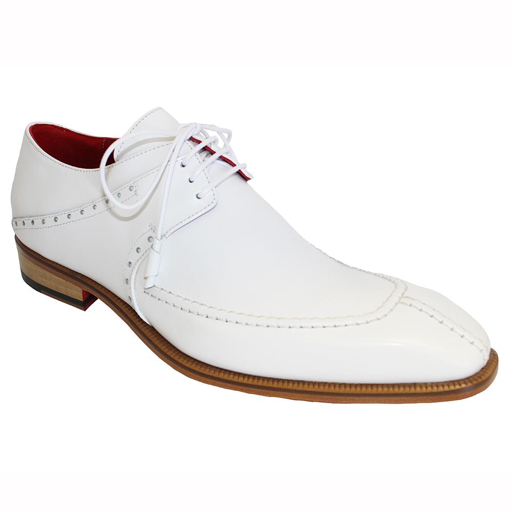 Emilio Franco Amadeo Leather Shoes White Image