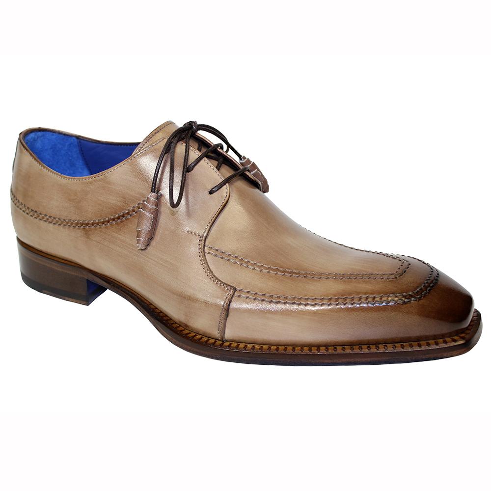 Emilio Franco Amato Leather Shoes Taupe Image