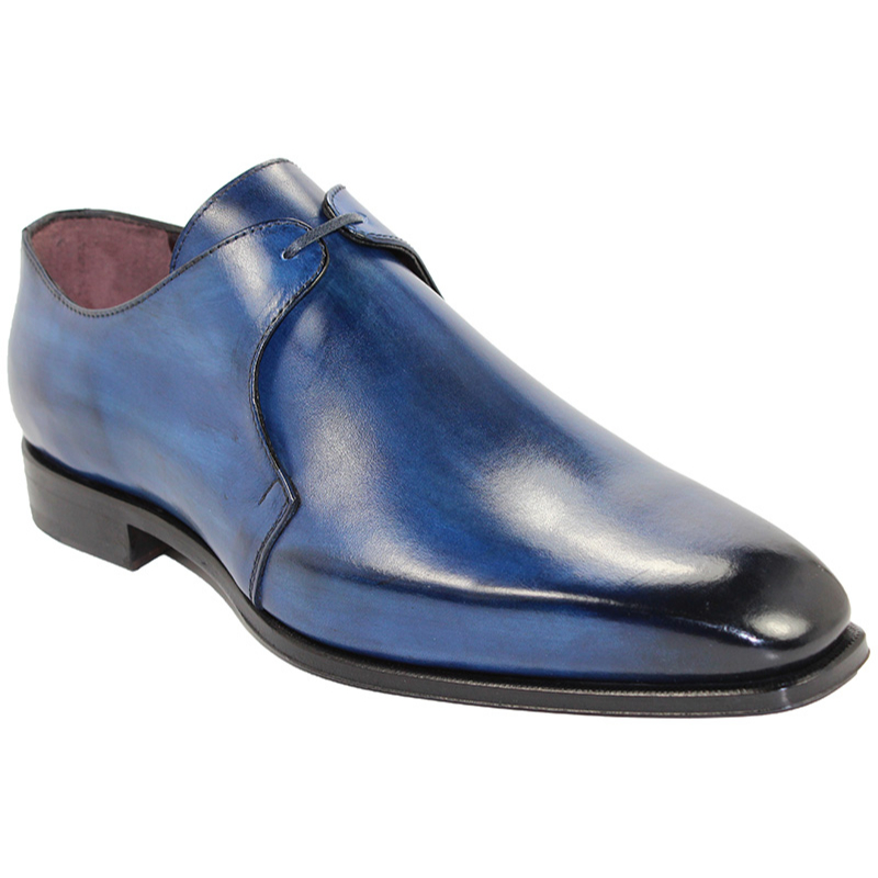 Emilio Franco Andrea Blue Shoes Image