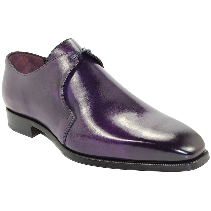 Emilio Franco Andrea Purple Shoes Image