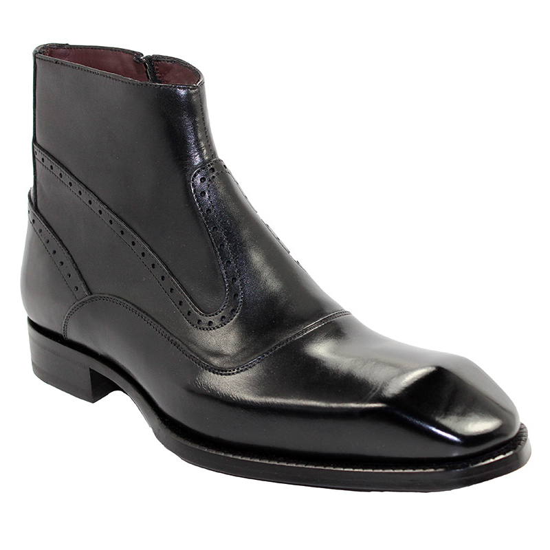 Emilio Franco Davide Black Boots Image
