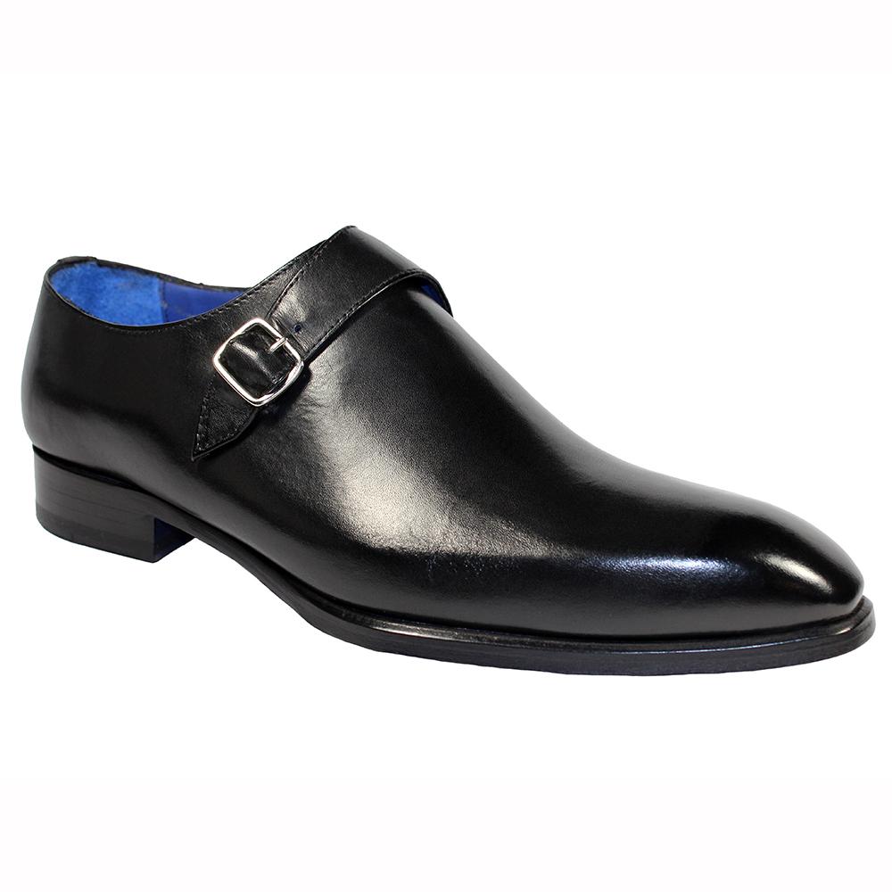 Emilio Franco Fabrizio Leather Shoes Black Image