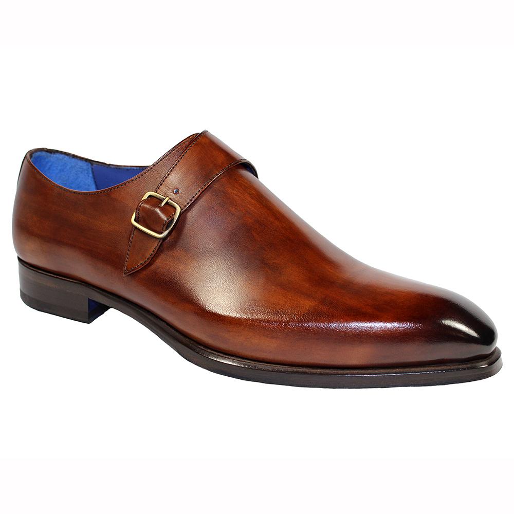 Emilio Franco Fabrizio Leather Shoes Brown Image