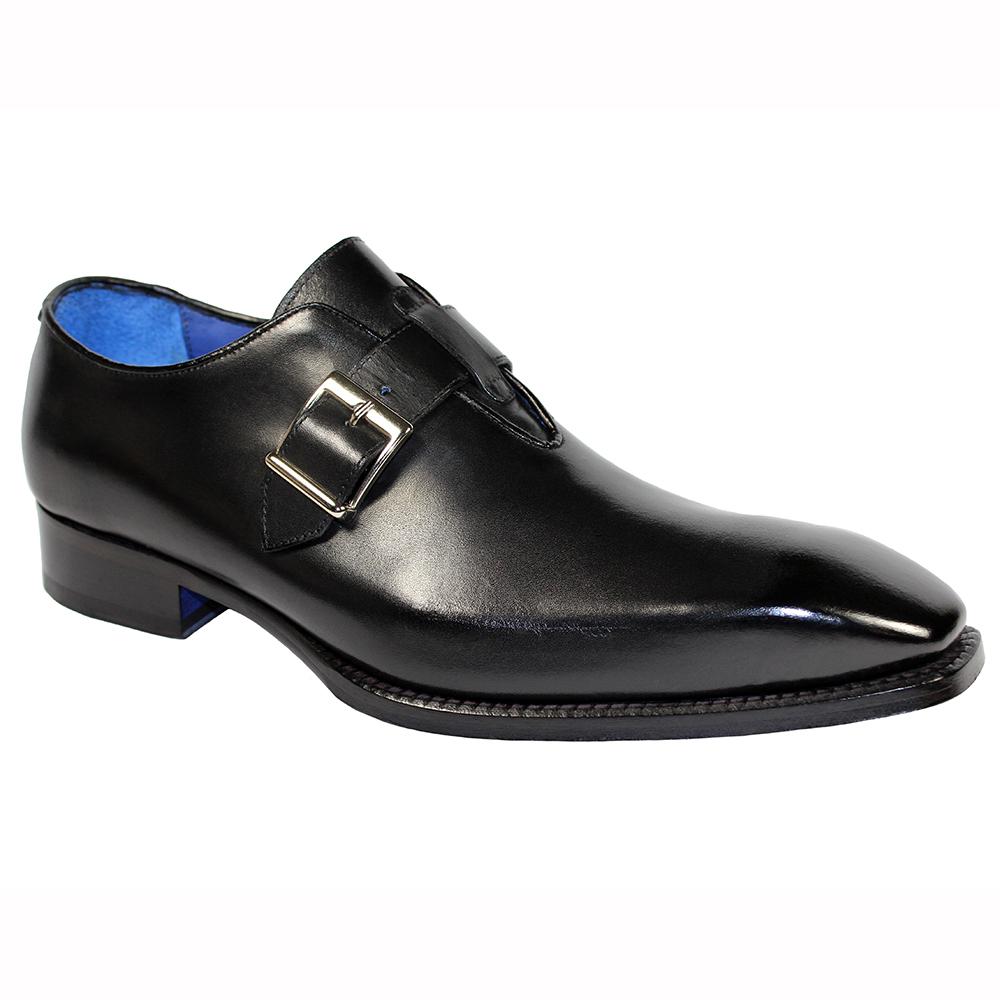 Emilio Franco Filippo Leather Shoes Black Image
