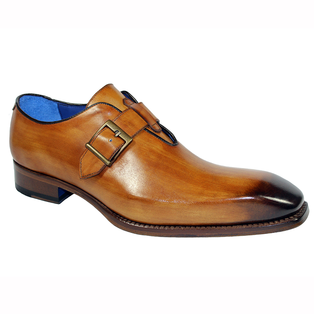 Emilio Franco Filippo Leather Shoes Cognac Image