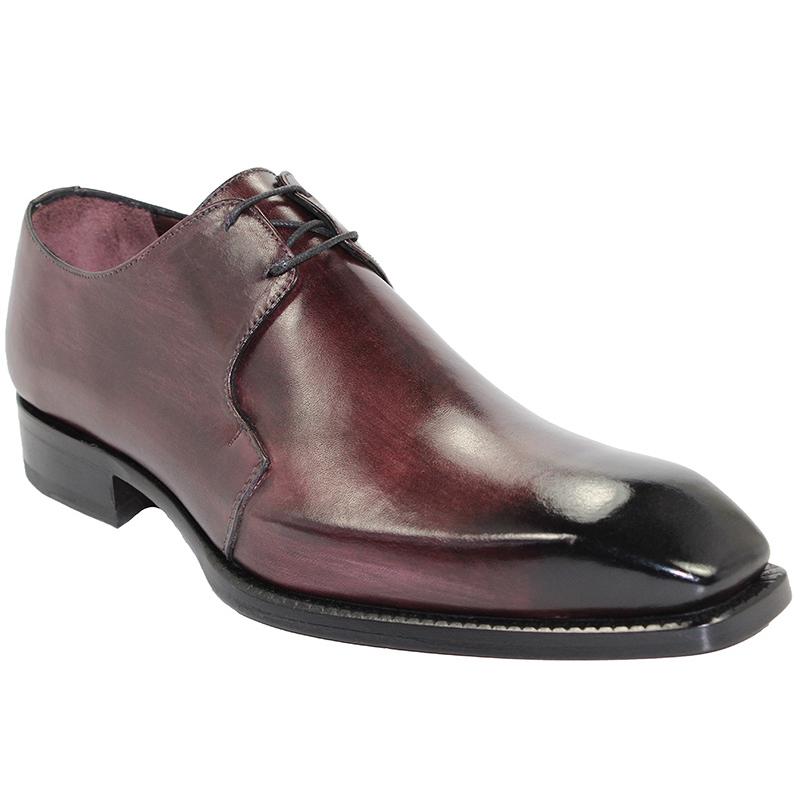 Emilio Franco Franco Burgundy Shoes Image