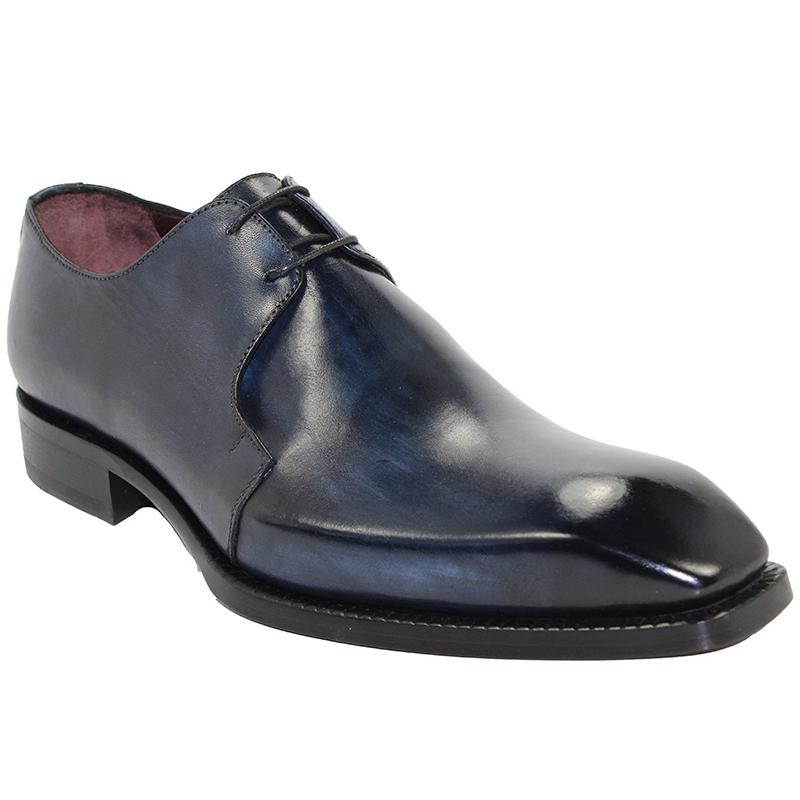 Emilio Franco Franco Navy Shoes Image