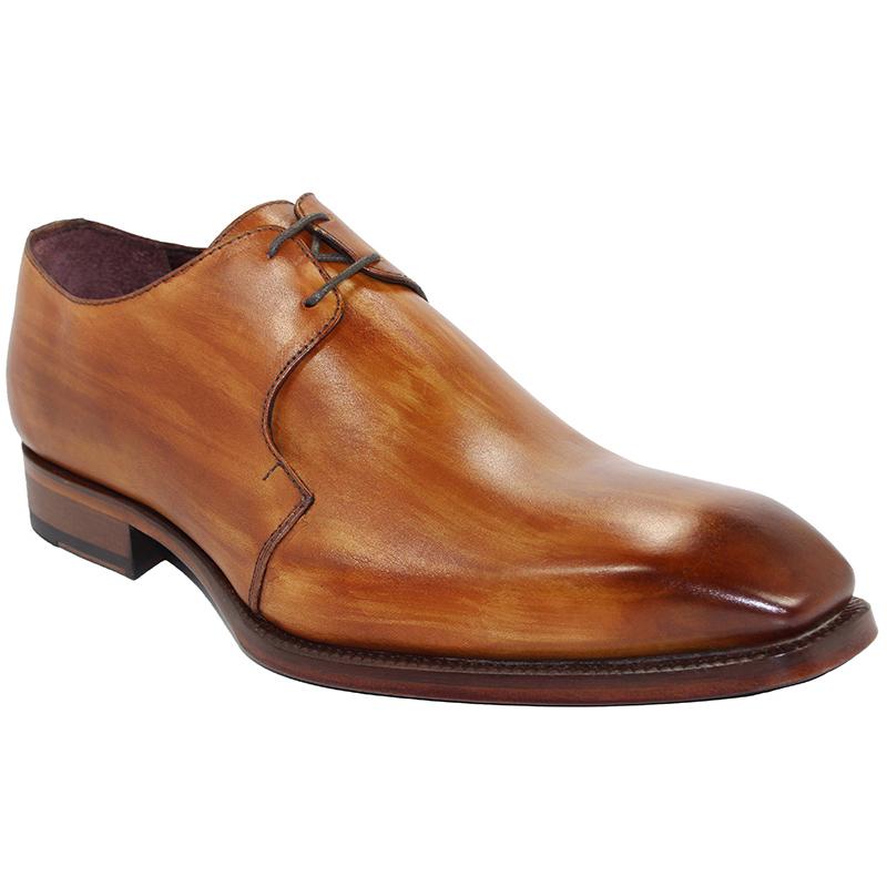 Emilio Franco Franco Cognac Shoes Image
