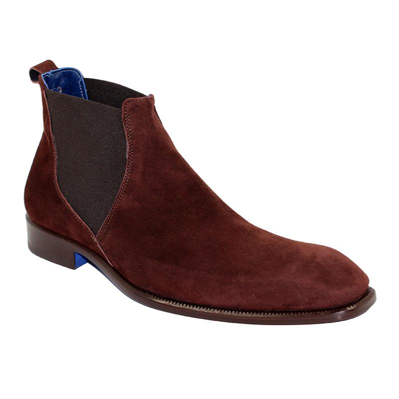 Emilio Franco Leonardo Suede Brown Boots Image