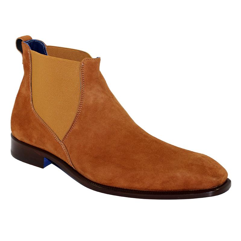 Emilio Franco Leonardo Suede Cognac Boots Image
