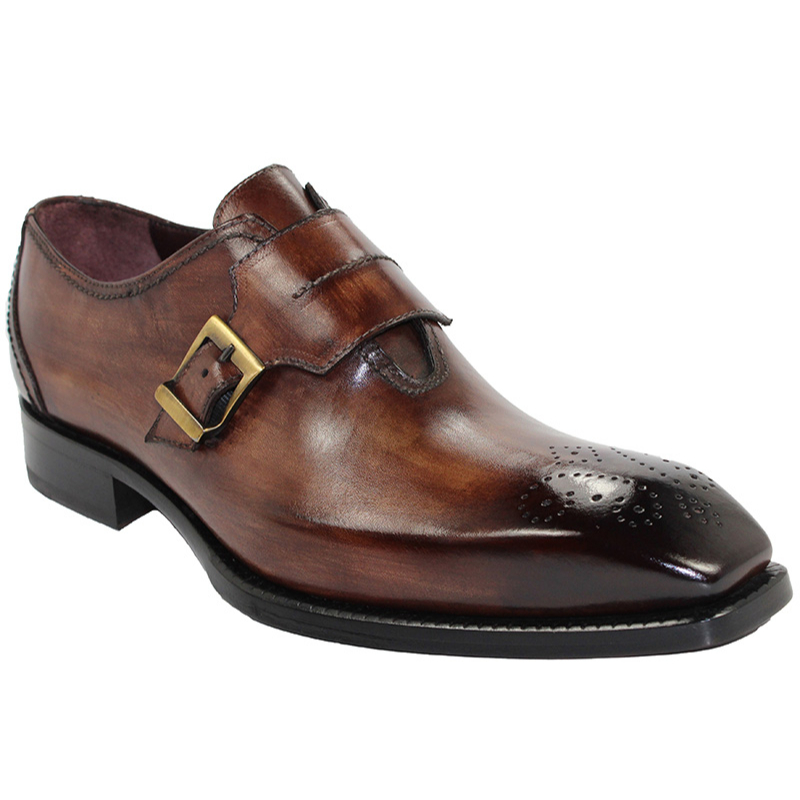 Emilio Franco Luca Brown Shoes Image
