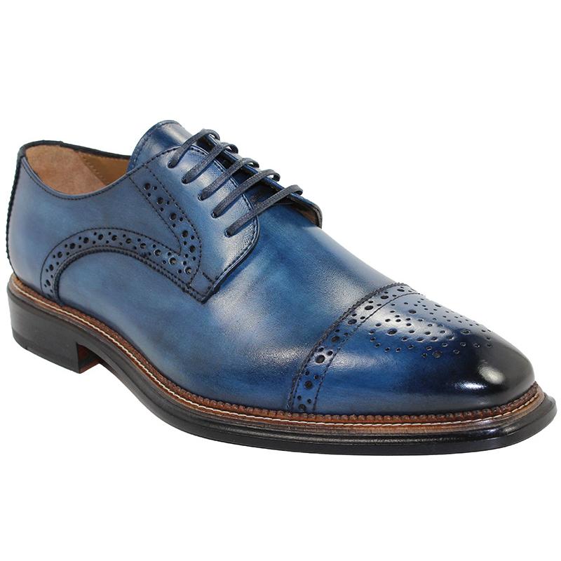 Emilio Franco Luigi Navy Shoes Image