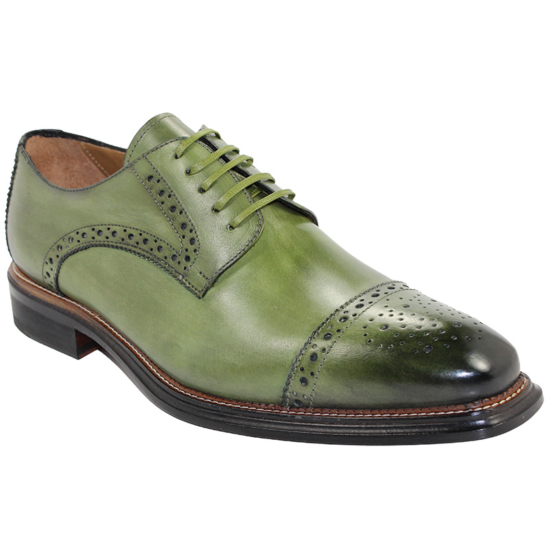 Emilio Franco Luigi Olive Shoes Image