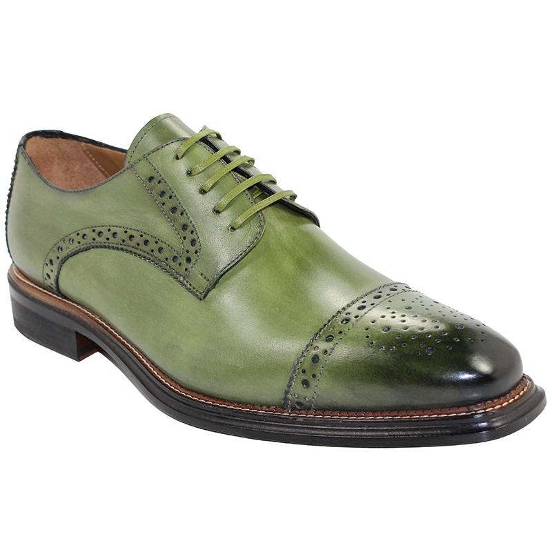 Emilio Franco Luigi Olive Shoes Image