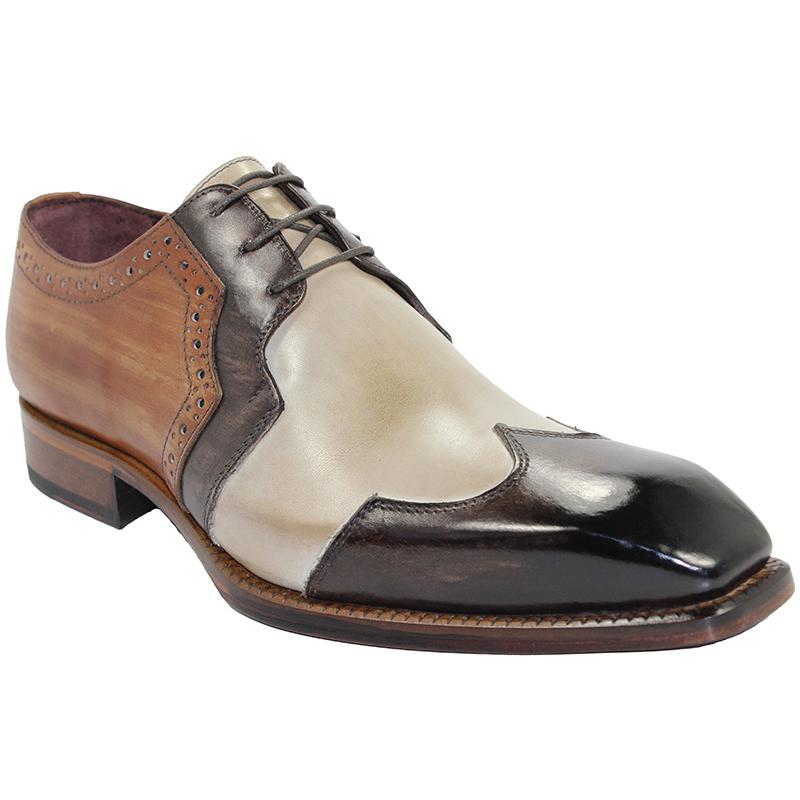 Emilio Franco Marco Dark Brown Shoes Image