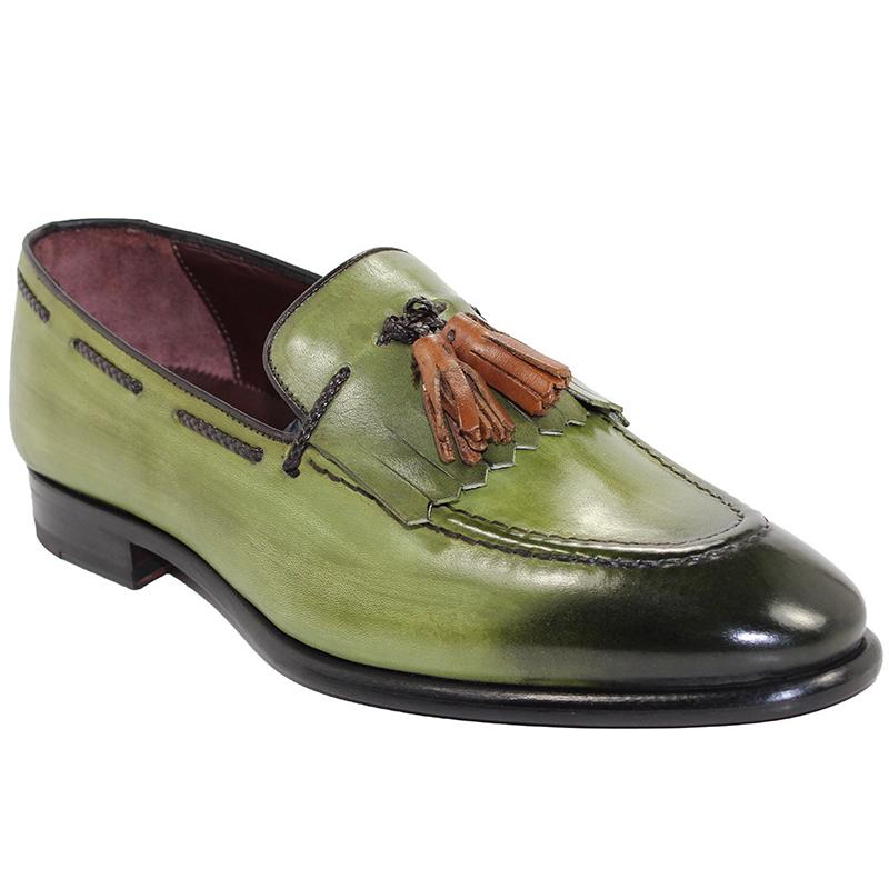 Emilio Franco Matteo Olive Shoes Image