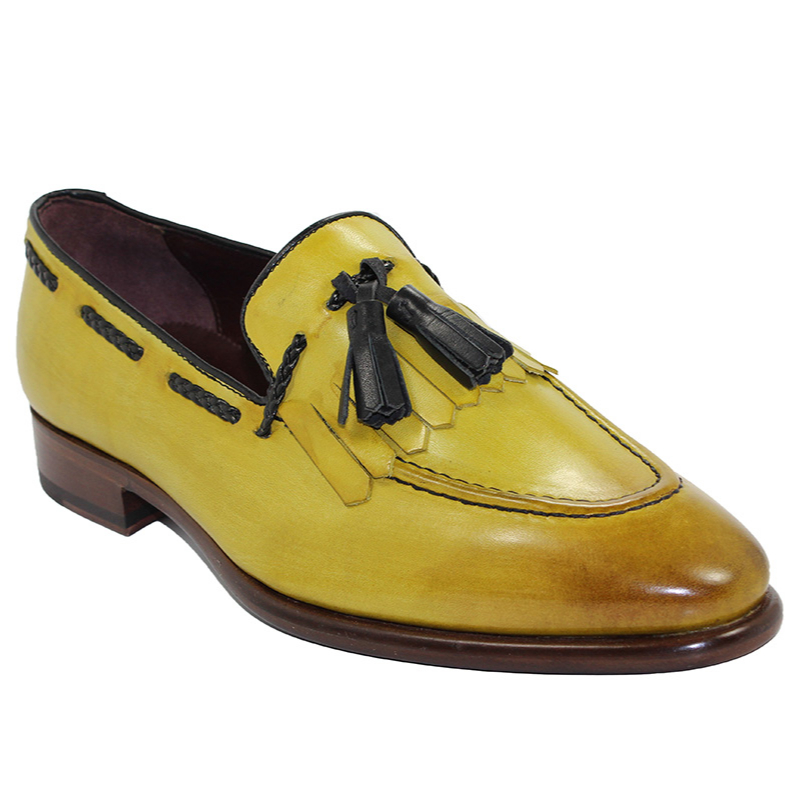 Emilio Franco Matteo Yellow Shoes Image