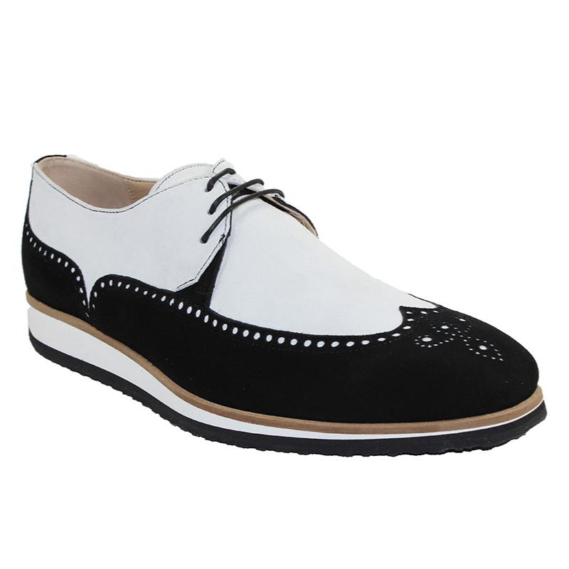 Emilio Franco Paolo Sneakers Black/White Image