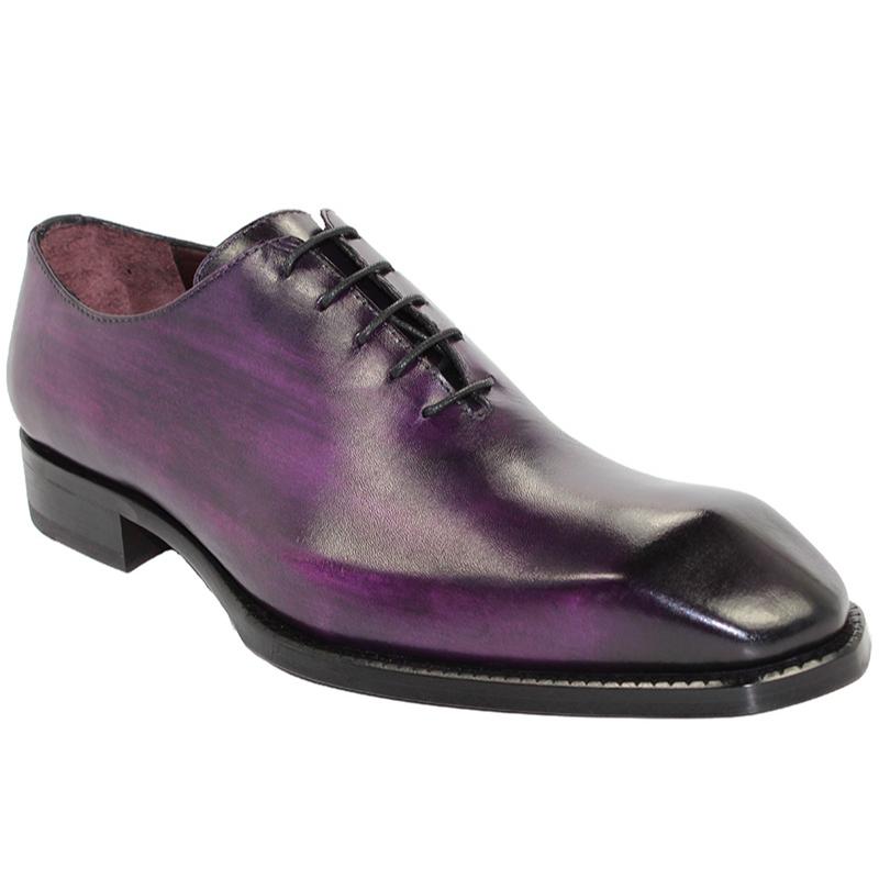 Emilio Franco Stefano Purple Shoes Image