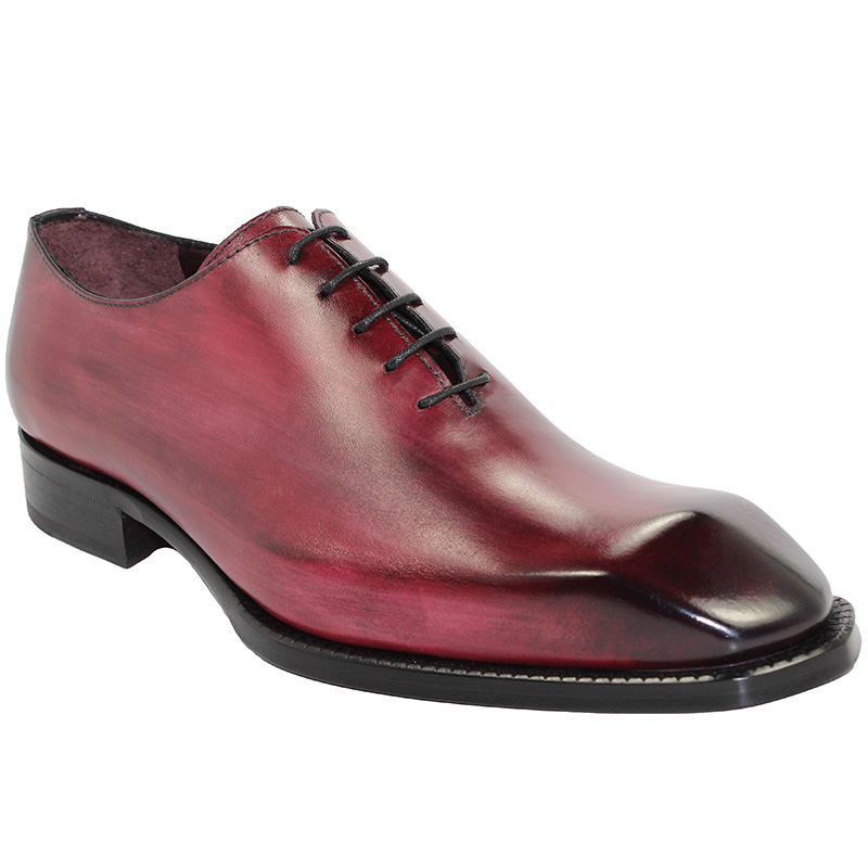 Emilio Franco Stefano Wine Shoes Image