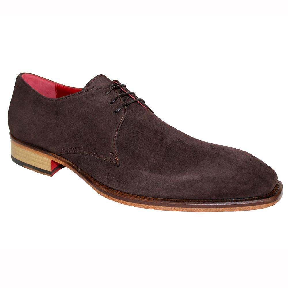 Emilio Franco Uberto Suede Shoes Brown Image