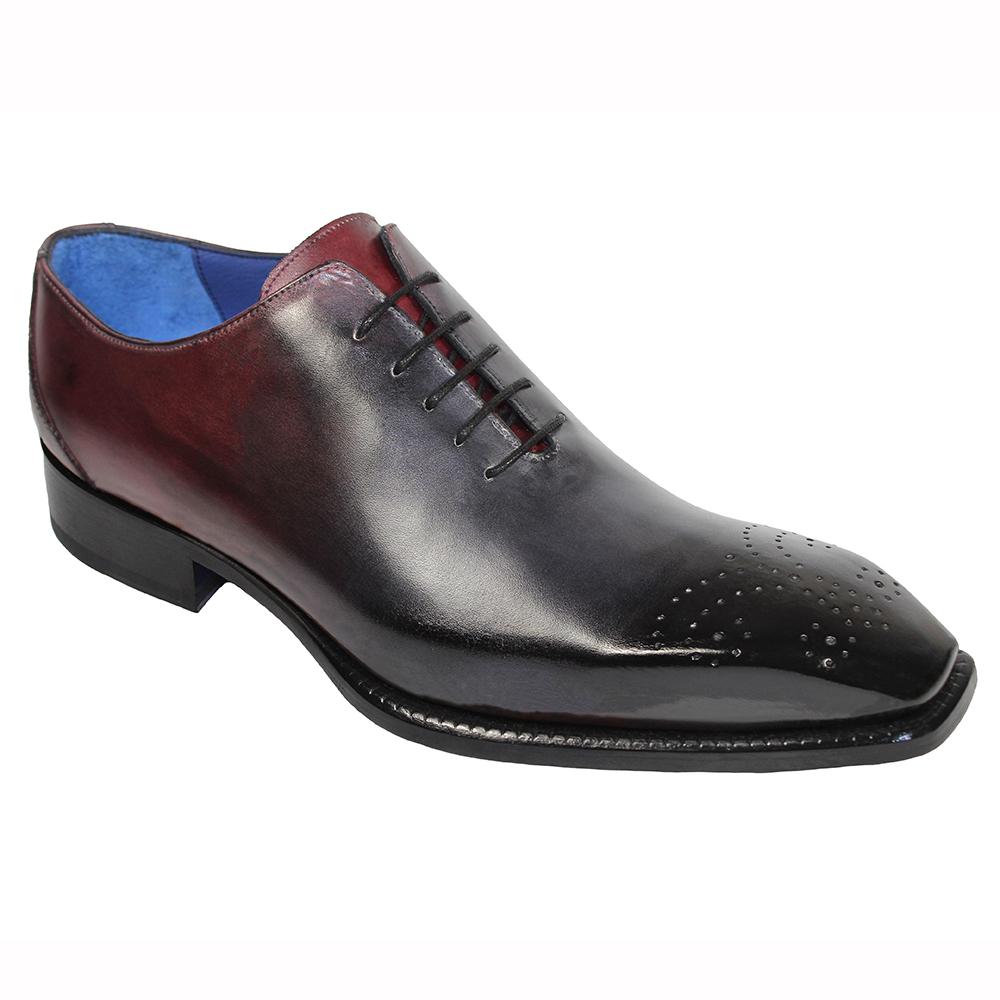 Emilio Franco Valerio Leather Shoes Black Combo Image