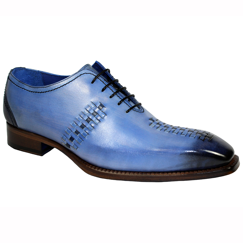 Emilio Franco Vito Leather Shoes L Blue / Navy Image