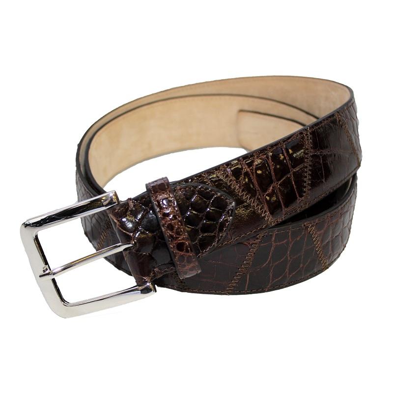 Fennix 303 Alligator Belt Chocolate Image