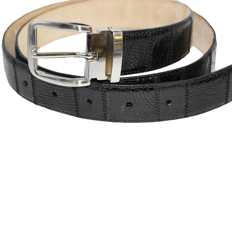 Fennix 304 Lizard and Alligator Belt Black Image