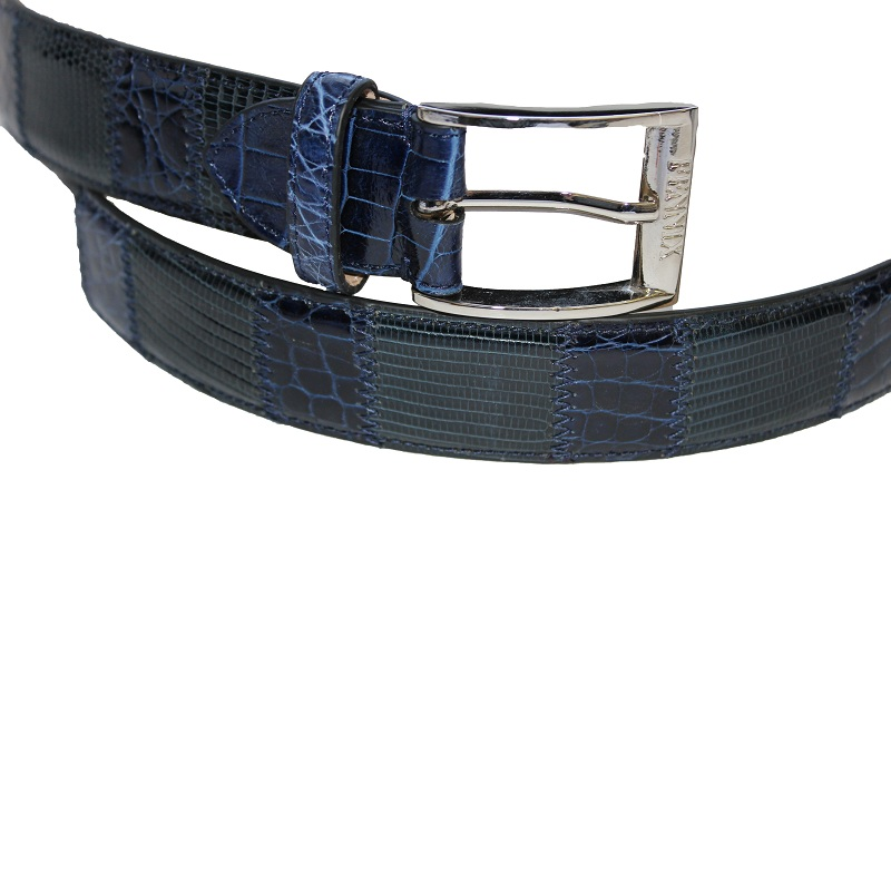 Fennix 304 Lizard and Alligator Belt Navy Image