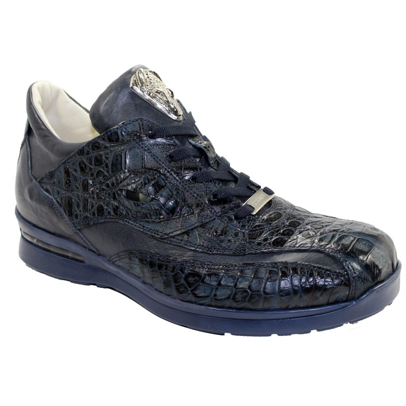 Fennix 3044 Hornback & Calf Sneakers Navy Image
