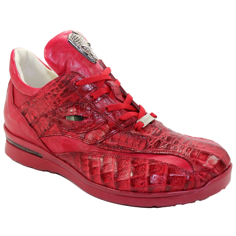 Fennix 3044 Hornback & Calf Sneakers Red Image