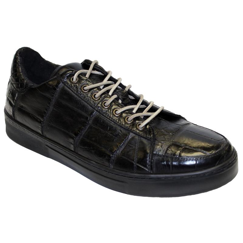 Fennix Adam Allligator Sneakers Black Image