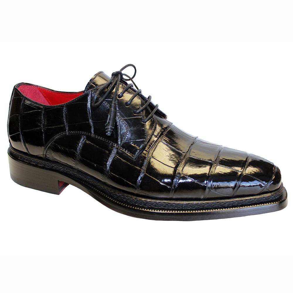 Fennix Gabriel Alligator Shoes Black Image