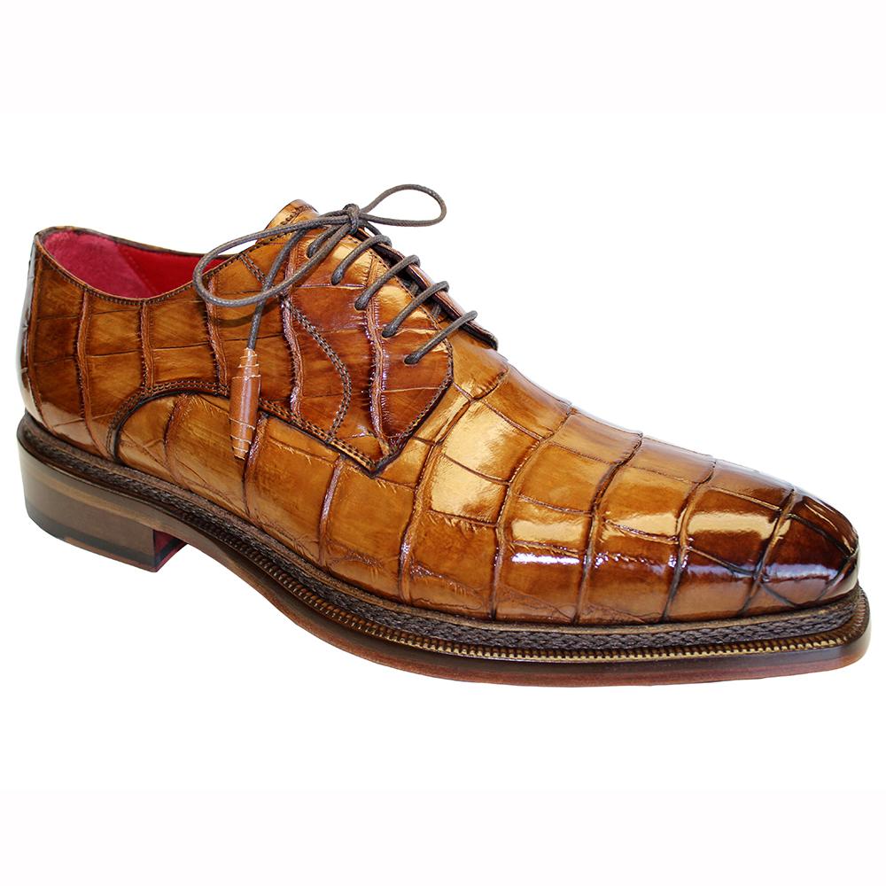 Fennix Gabriel Alligator Shoes Cognac Image