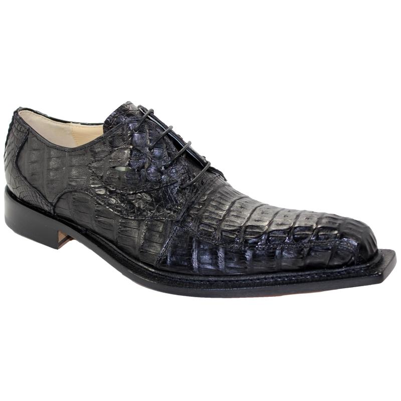 Fennix Hugo Hornback Shoes Black Image