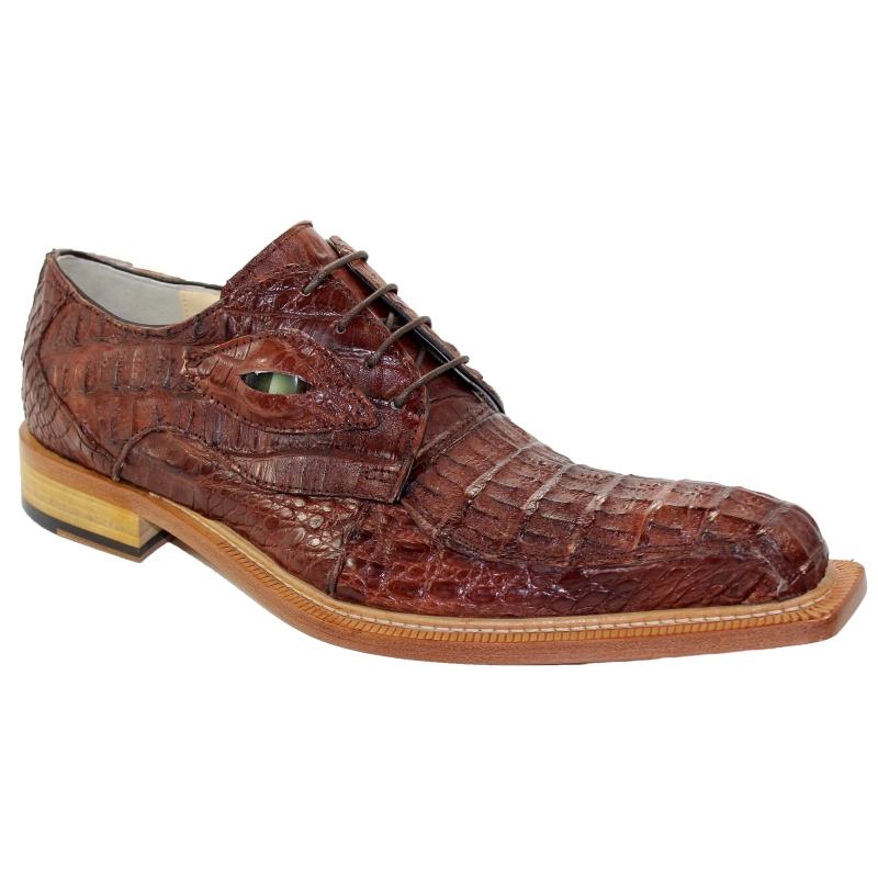 Fennix Hugo Hornback Shoes Cognac Image